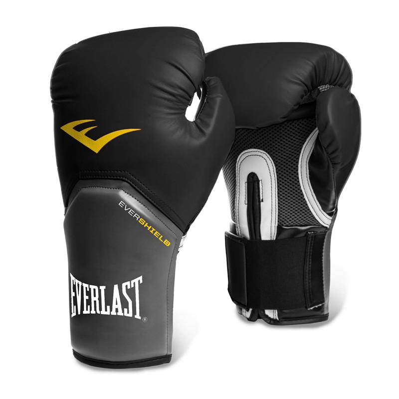 ... Luva Boxe Everlast Pro Style Elite - Preto. Play Vídeo 72cdbd045a6cd