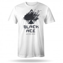 Camiseta Black Ace Explode - Branco