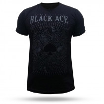 Camiseta Black Ace Royal - Preto