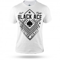 Camiseta Black Ace Just Fight - Branco
