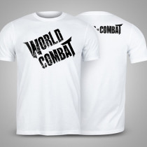 Camiseta World Combat Logo - Branca
