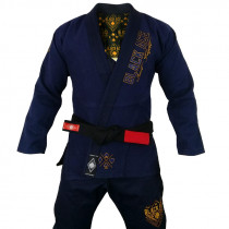 Kimono Black Ace Just Fight - Navy Gold