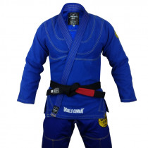 Kimono World Combat New Let's Roll - Azul