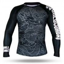 Rash Guard World Combat The Dragon