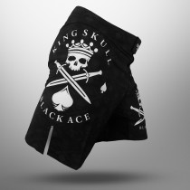 Bermuda Black Ace King Skull - Preto