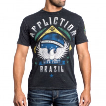 Camiseta Affliction Edson Barboza UFC Walkout - Preto