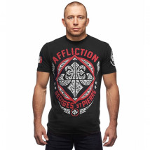 Camiseta Affliction GSP Authority - Preto