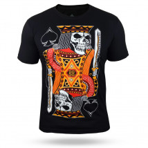 Camiseta Black Ace The King of Gamble - Preta