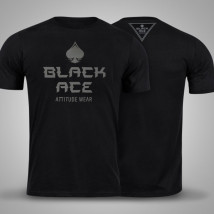 Camiseta Black Ace Lucky - Preto