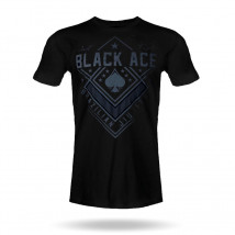 Camiseta Black Ace Just Fight - Preto