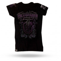 Camiseta Feminina Throwdown - Preta
