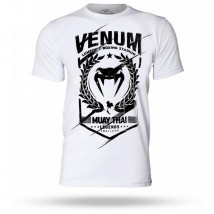 Camiseta Venum Muay Thai Legend - Branco