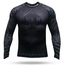 Rash Guard Black Ace Royal - Preto