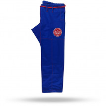 Calça Jiu-Jitsu Avulsa World Combat New Let's Roll - Blue Red