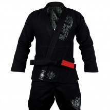 Kimono Black Ace Just Fight - Silver