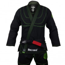 Kimono World Combat New Let's Roll - Preto