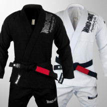 Kit: 2 Kimonos World Combat BJJ