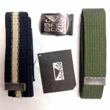 Kit 2 Cintos Bad Boy - Preto e Verde