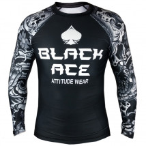 Rash Guard Black Ace Yakuza
