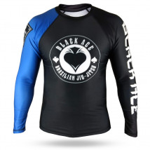 Rash Guard Black Ace Gambler - Preto e Azul