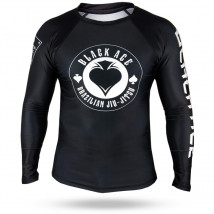 Rash Guard Black Ace Gambler - Preto