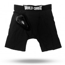 Short Coquilha World Combat - Preto