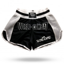 Short Muay Thai World Combat Thailand Style - Black
