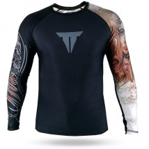 Rash Guard Throwdown Grazz Skull - Preto