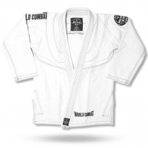 Wagui (Jaleco) World Combat New Let's Roll - Branco e Preto