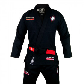 Kimono Black Ace BJJ is My Game - Preto