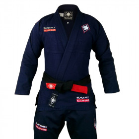 Kimono Black Ace BJJ is My Game - Azul Marinho