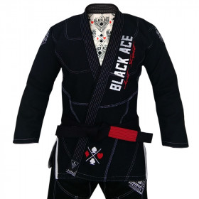 Kimono Black Ace Just Fight - Preto