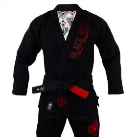 Kimono Black Ace Just Fight - Red Devil
