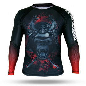 Rash Guard World Combat Monkey Samurai