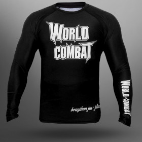 Rash Guard World Combat Jiu-Jitsu - Preto
