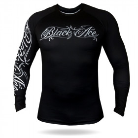 Rash Guard Black Ace Player - Preto